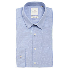 Buy Ben Sherman Corduroy Print Shirt, Cashmere Blue Online at johnlewis.com