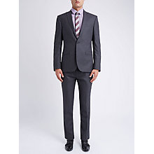 Buy Ben Sherman Tailoring Brushed Puppytooth Suit Jacket, Smoked Pearl Online at johnlewis.com