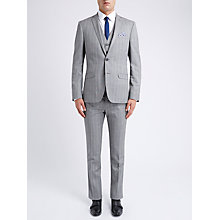 Buy Ben Sherman Tailoring Slim Fit Twisted Prince of Wales Check Suit Jacket, Smoked Pearl Online at johnlewis.com