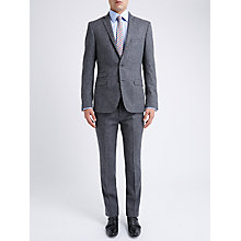 Buy Ben Sherman Tailoring Slim Fit British Tweed Suit Jacket, Smoked Pearl Online at johnlewis.com