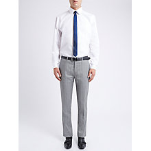 Buy Ben Sherman Tailoring SLim Fit Twisted Prince of Wales Check Suit Trousers, Smoked Pearl Online at johnlewis.com