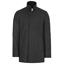 Buy Reiss Spencer Concealed Placket Coat Online at johnlewis.com