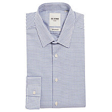 Buy Ben Sherman Jacquard Check Shirt, Medieval Blue Online at johnlewis.com