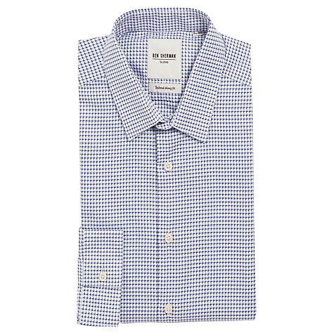 Buy Ben Sherman Jacquard Check Shirt Online at johnlewis.com