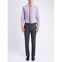 Buy Ben Sherman Tailoring Brushed Puppytooth Suit Trousers, Smoked Pearl Online at johnlewis.com