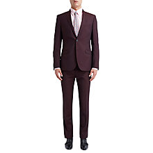 Buy Ben Sherman Tailoring Camden Fit Mohair Suit Jacket, Oxblood Online at johnlewis.com