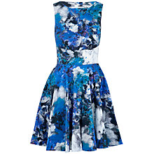 Buy Almari Cut-Out Back Print Dress, Multi Online at johnlewis.com