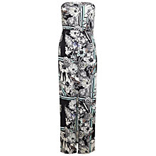Buy Miss Selfridge Floral Bandeau Maxi Dress, Assorted Online at johnlewis.com