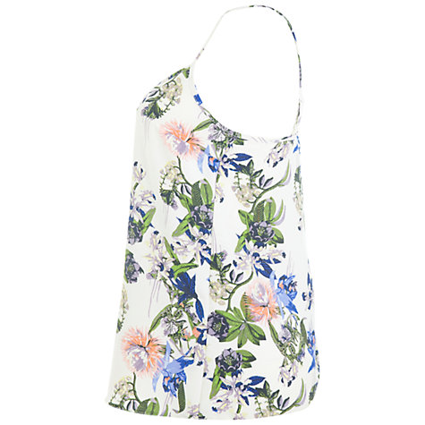 Buy Miss Selfridge Botanical Print Camisole, Assorted Online at johnlewis.com