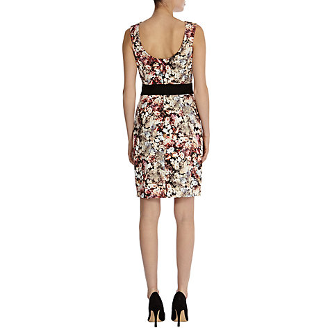 Buy Coast Sheena Winter Floral Dress, Multi Online at johnlewis.com
