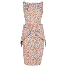 Buy Coast Miranda Bow Dress, Grey Online at johnlewis.com