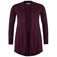 Buy Chesca Seamed Detail Cardigan, Plum Online at johnlewis.com