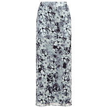Buy Kaliko Blurred Floral Maxi Skirt, Multi Online at johnlewis.com