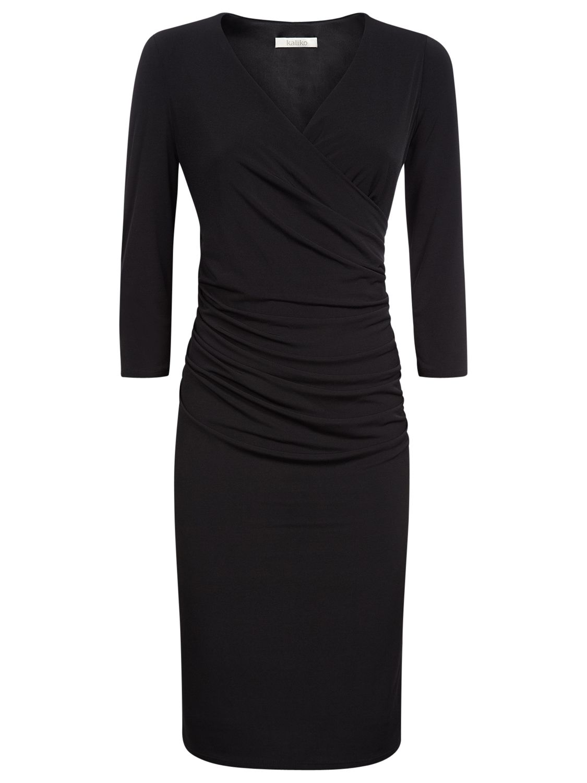 kaliko midi tuck dress black, kaliko, midi, tuck, dress, black, special offers, womenswear offers, 20% off selected kaliko, women, plus size, womens dresses, womens dresses offers, 1635155