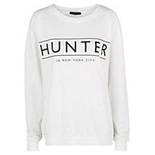 Buy Mango Message Sweatshirt, White Online at johnlewis.com