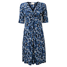 Buy East Brushstroke Jersey Dress, Dusk Online at johnlewis.com