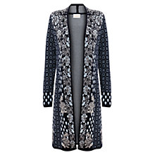 Buy East Patchwork Cardigan, Ink Online at johnlewis.com