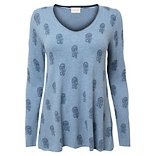 Buy East Kilow Bootie Swing Jumper, Sky Online at johnlewis.com