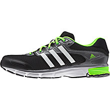 Buy Adidas Nova Cushion Men's Running Shoes, Core Black/White Online at johnlewis.com