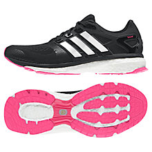 Buy Adidas Energy Boost 2.0 ESM Running Shoes, Black Online at johnlewis.com