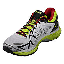 Buy Asics Gel-Kayano 21 Men's Running Shoes, Green/Red Online at johnlewis.com