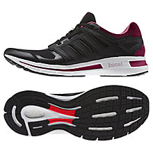 Buy Adidas Revenergy Boost Running Trainers, Black/Multi Online at johnlewis.com