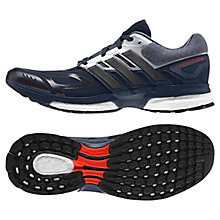 Buy Adidas Response Boost Techfit Running Shoes, Navy Online at johnlewis.com