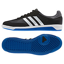 Buy Adidas 3 Stripe Universal Training Shoes, Black/White Online at johnlewis.com