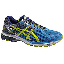 Buy Asics GT-1000 GTX Men's Running Shoes, Blue/Yellow Online at johnlewis.com
