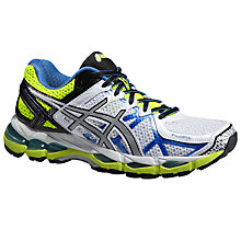 Buy Asics Gel-Kayano 21 Women's Running Shoes, Green/Blue Online at johnlewis.com