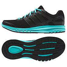 Buy Adidas Duramo 6 Women's Running Shoes, Black/Blue Online at johnlewis.com