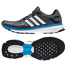 Buy Adidas Energy Boost 2.0 ATR Men's Running Shoes, Bold Onix/White Online at johnlewis.com