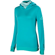 Buy Adidas Climaheat Hoodie, Vivid Mint Online at johnlewis.com