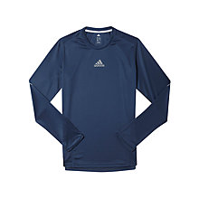 Buy Adidas Sequencials Long Sleeve Running T-Shirt, Blue Online at johnlewis.com