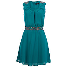Buy Rise Embellished Skater Dress Online at johnlewis.com