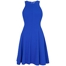 Buy Closet Flared Panel Dress, Blue Online at johnlewis.com