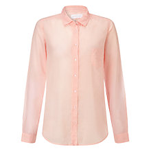 Buy Collection WEEKEND by John Lewis Voile Shirt, Pale Pink Online at johnlewis.com
