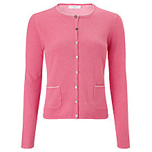 Buy John Lewis Plaited Crew Neck Cardigan Online at johnlewis.com