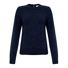 Buy Collection WEEKEND by John Lewis Crew Neck Jumper, Indigo Blue Online at johnlewis.com