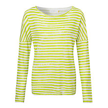 Buy Collection WEEKEND by John Lewis Drop Shoulder Linen Top Online at johnlewis.com