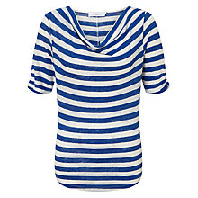 Buy John Lewis Cowl Neck Stripe Top Online at johnlewis.com