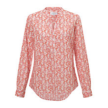 Buy John Lewis Ditsy Collared Shirt, Pink Online at johnlewis.com