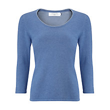 Buy John Lewis Plaited Scoop Neck Jumper Online at johnlewis.com