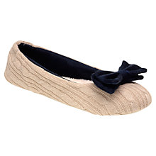 Buy Radley Chelsea Ballerina Slipper, Navy Online at johnlewis.com