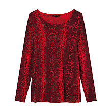 Buy Gérard Darel Knitted Top, Red Online at johnlewis.com
