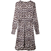 Buy Gérard Darel Abstract Print Dress, Grey Online at johnlewis.com