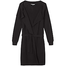 Buy Gérard Darel Longline Knitted Cardigan, Black Online at johnlewis.com