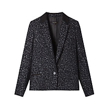 Buy Gérard Darel Printed Jacket, Navy Online at johnlewis.com