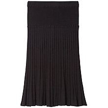 Buy Gérard Darel Knitted Skirt, Black Online at johnlewis.com