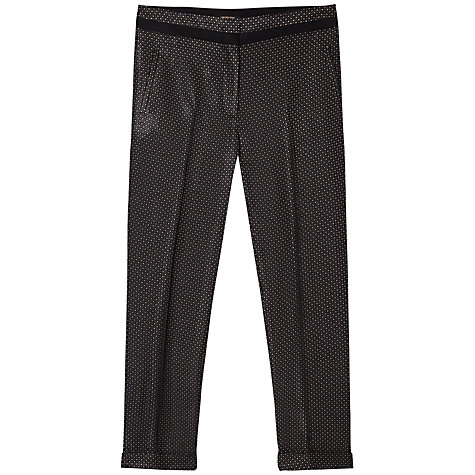 Buy Gérard Darel Trousers, Black Beige Online at johnlewis.com